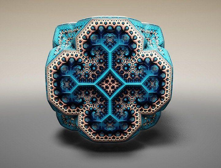 "Spectacular ""Faberge Fractals"" by Tom Beddard"