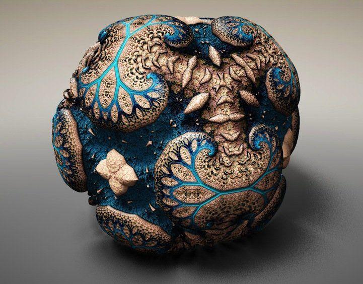 WebGL 3D fractal creator