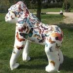 Awesome Gorilla Sculptures in Norwich