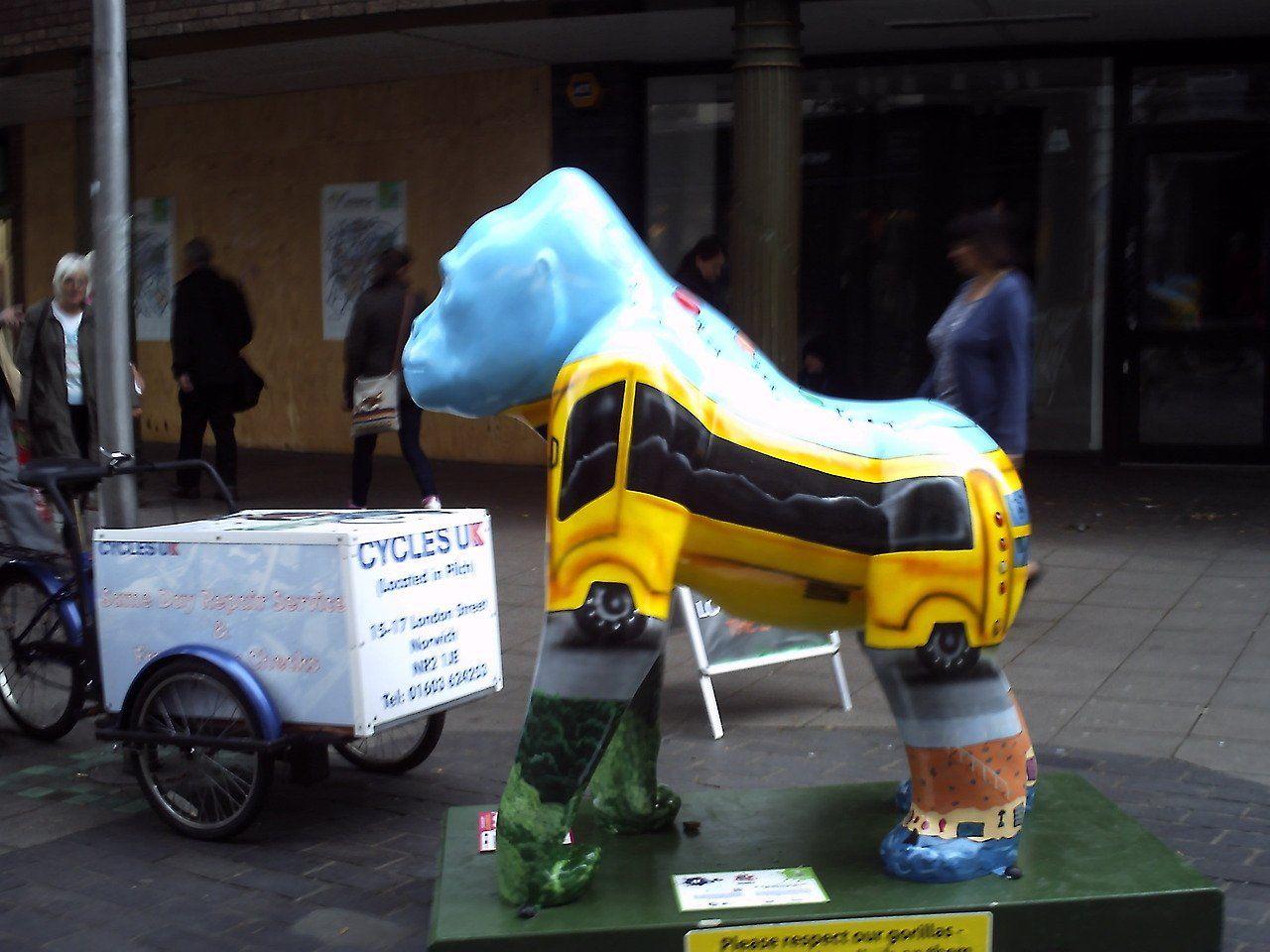 Incredible Gorilla Sculptures