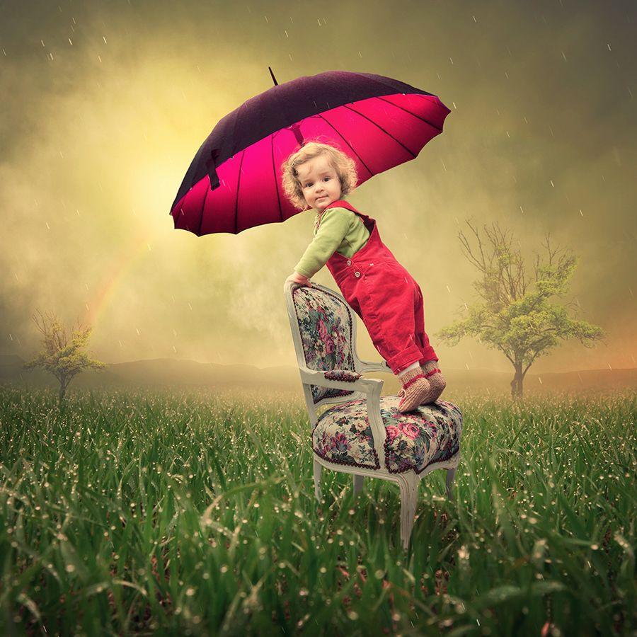 I love watching the rain II by Caras Ionut