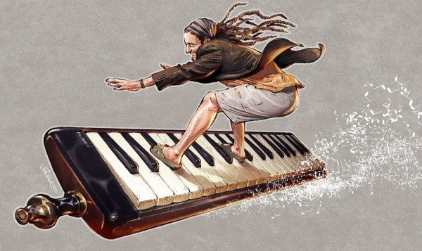 Beautiful Illustrations by Tamas Gaspar