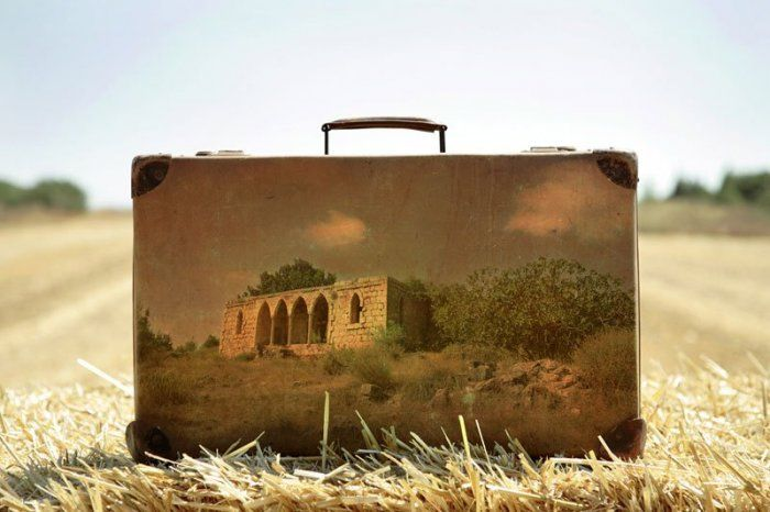 Old Suitcases Paintings by Yuval Yairi