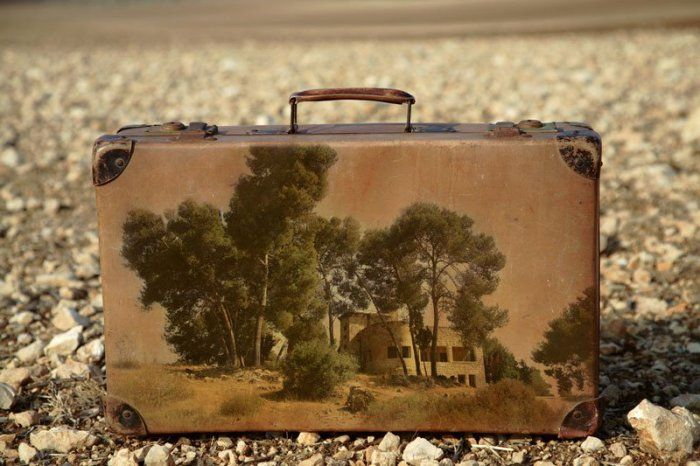 """Outstanding """"Memory Suitcases"""" Series by Yuval Yairi"""