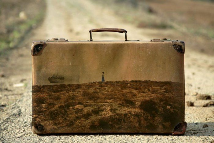 Old Suitcases Photography by Yuval Yairi