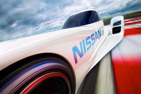 Fastest Electric Car Nissan ZEOD RC