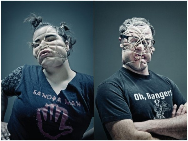 Rubber Band Photo Series by Wes Naman