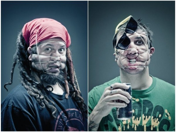 Rubber Band Portraits  (15)