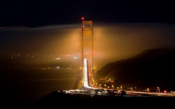 San Francisco in Fog