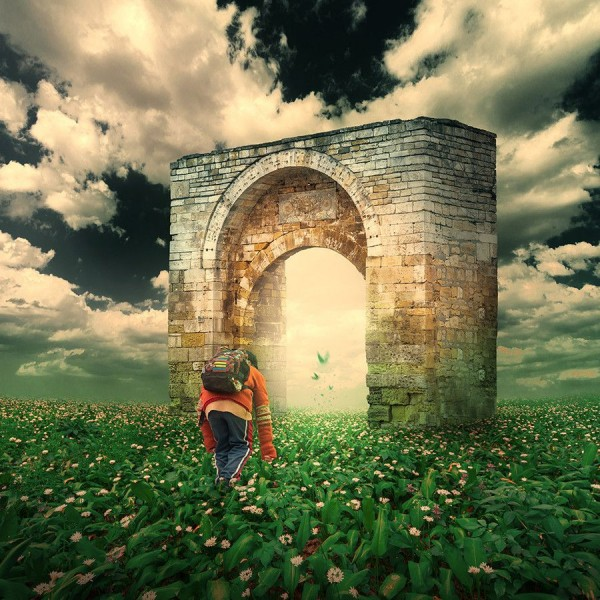 The magic portal by Caras Ionut