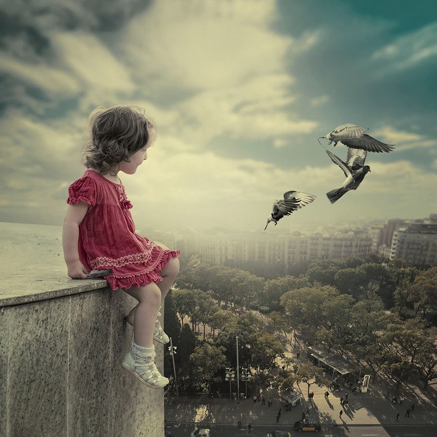 The observer by Caras Ionut