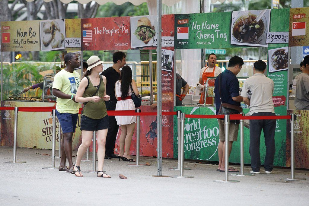 The First World Street Food Congress 2013 in Singapore