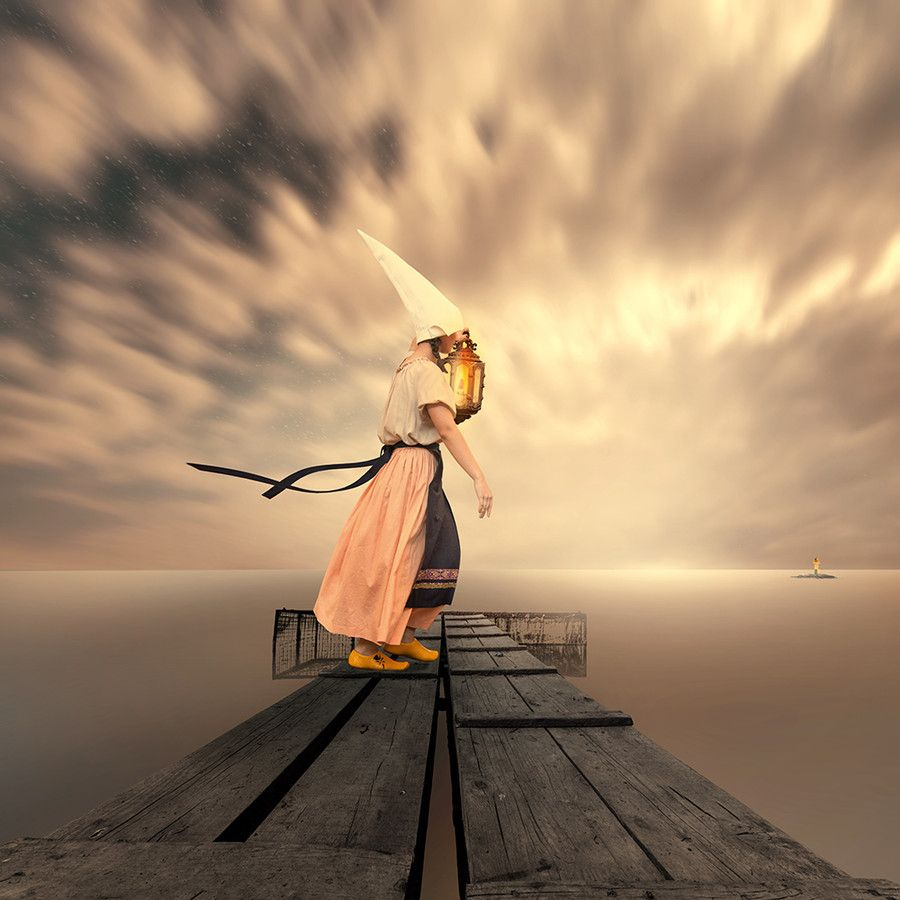 Yellow locomotion by Caras Ionut