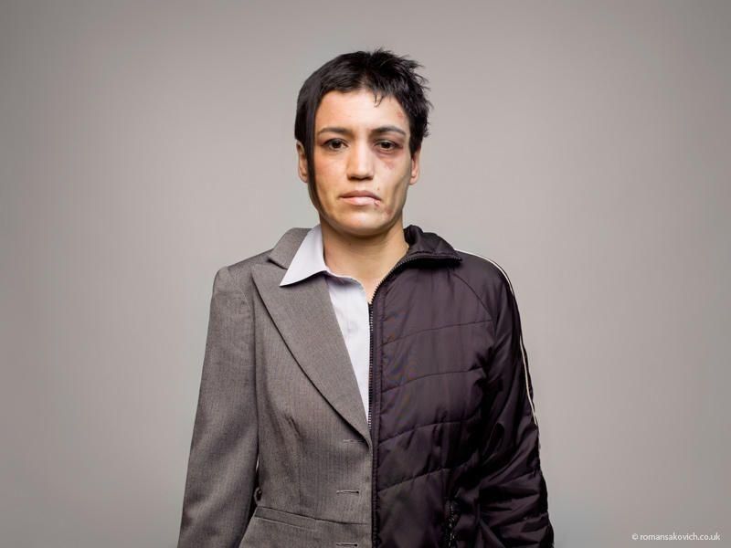 Drug Abuse Portraits by Roman Sakovich