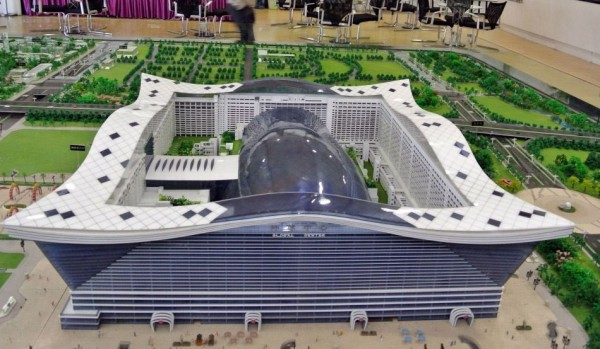 China's New Century Global Centre