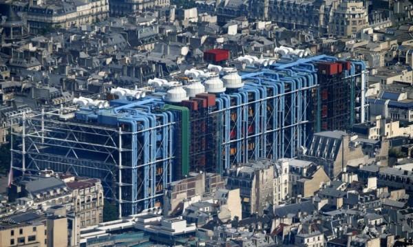 Aerial Photographs of Paris