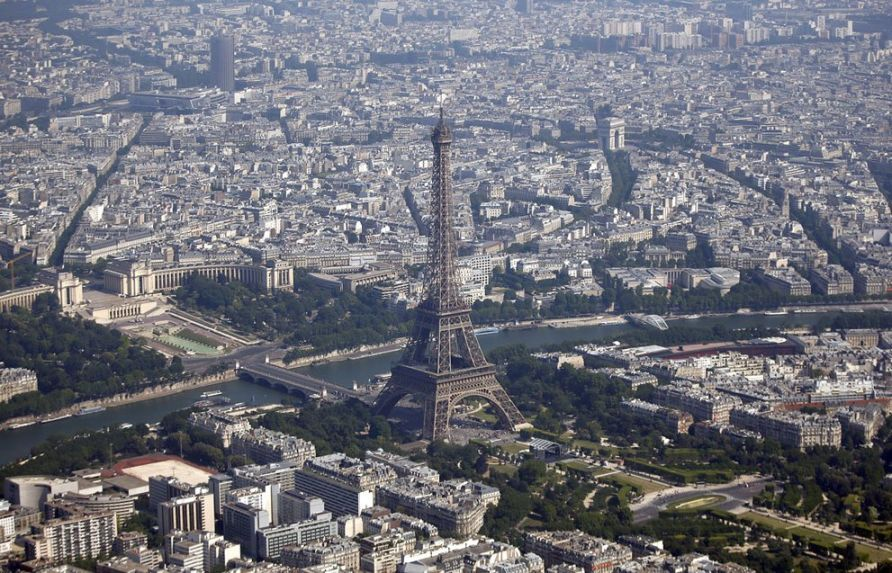 Stunning Arial Photography of Paris