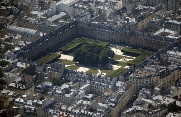 Aerial Photographs of Paris