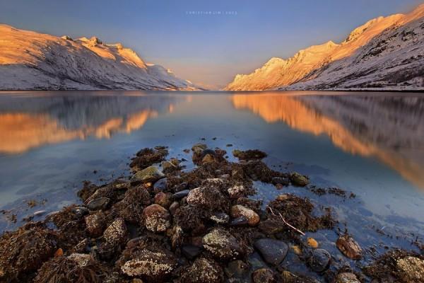 Ersfjord Alpen Light by Christian Lim