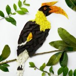 Exotic Birds Created with Flower Petals (14 Pictures)
