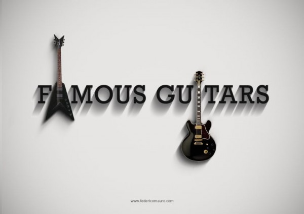 Famous Guitars Project- The Iconic Guitars of Famous Musicians