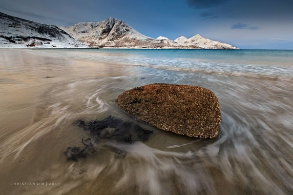 Grotfjord Beach by Christian Lim