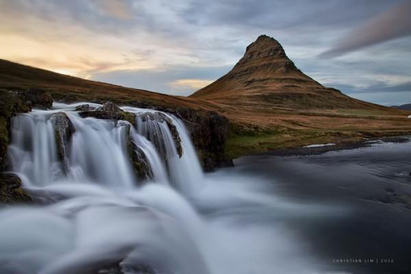 Kirkjufell Flows by Christian Lim