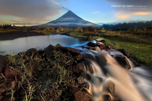 Mystic Mt Mayon by Christian Lim