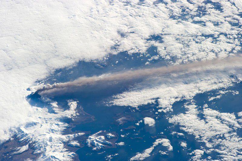 Pavlov Volcano, Alaska, USA