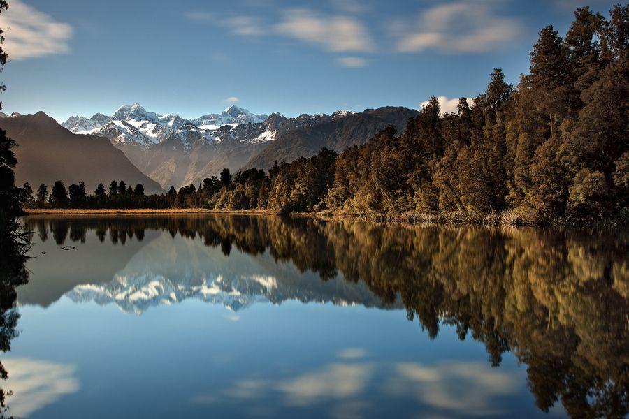 Reflection Island, Lake Matheson by Christian Lim