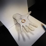 Incredible Anamorphic 3D Pencil Drawings by Alessandro Diddi