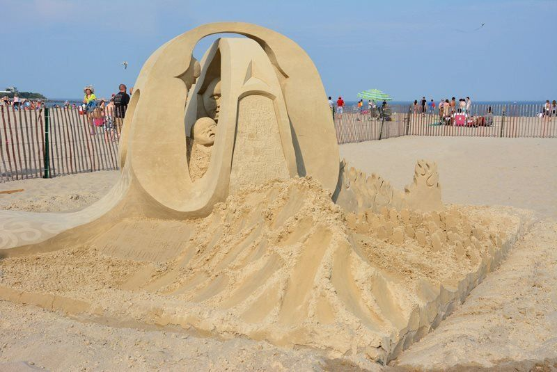 The Festival of Sand Sculptures in the Hamptons