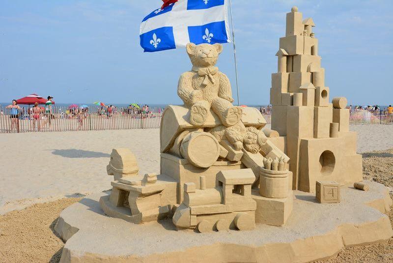 Hamptons Sand Sculptures Festival