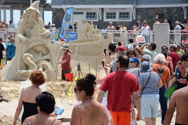 Sand Sculptures Festival 2013