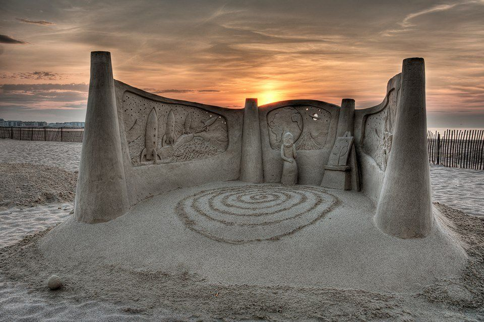 Dreaming Sand Sculptures