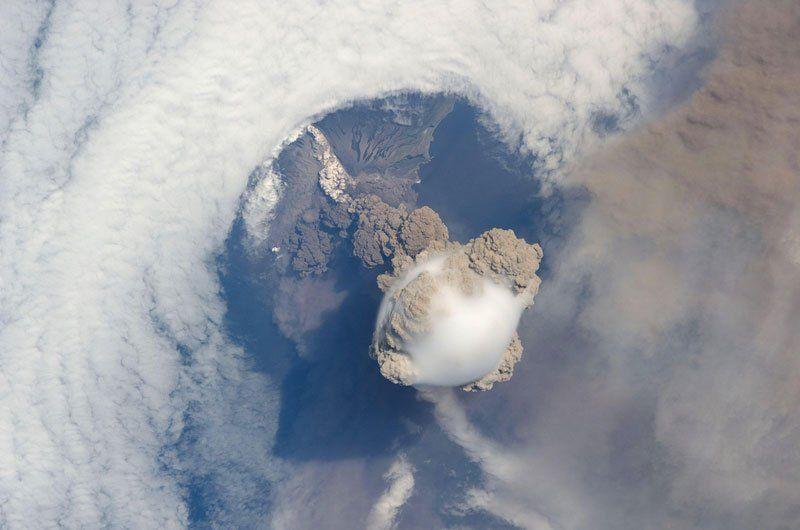 Sarychev Volcano, Kamchatka, Russia