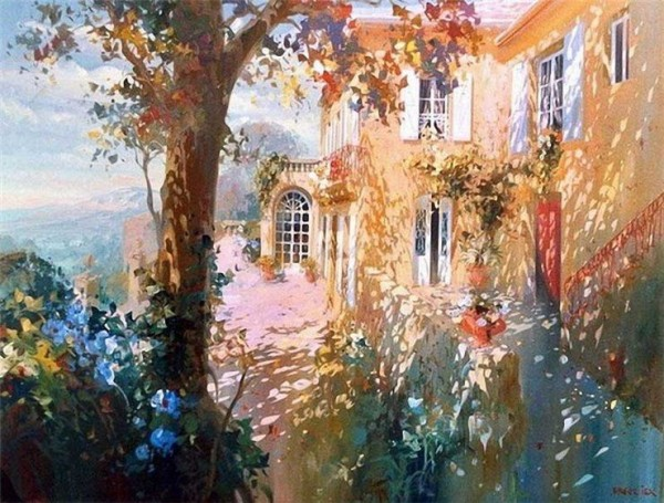 Spectacular Paintings by Laurent Parcelier