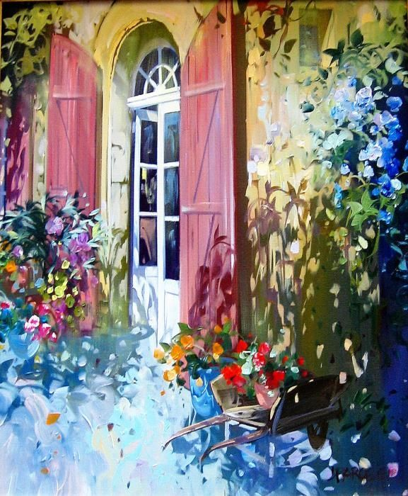 Radiant Paintings by Laurent Parcelier