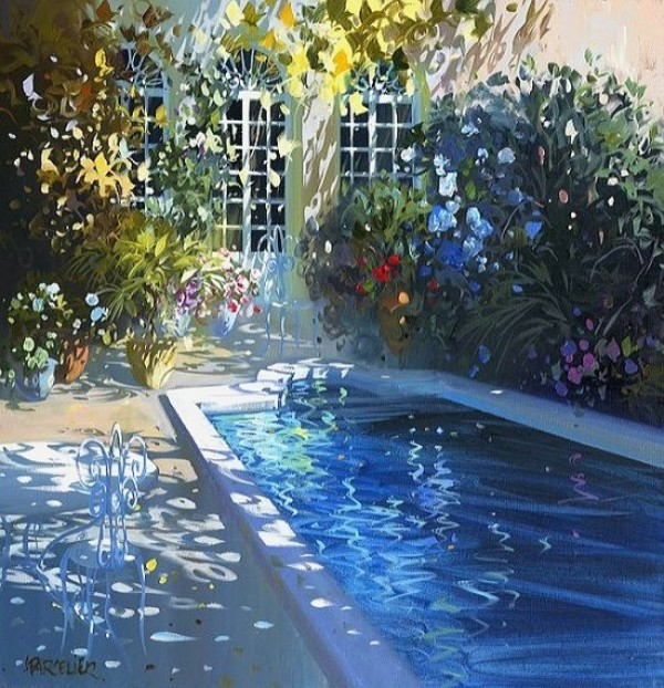 Sparkling Paintings by Laurent Parcelier