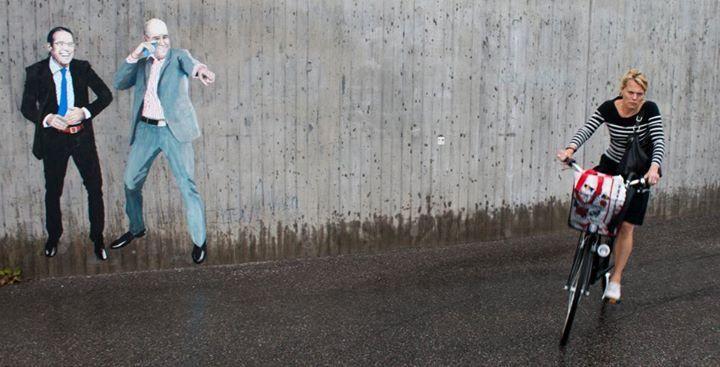 The Harsh Reality of Fairy Tales in Herr Nilsson's Street Art