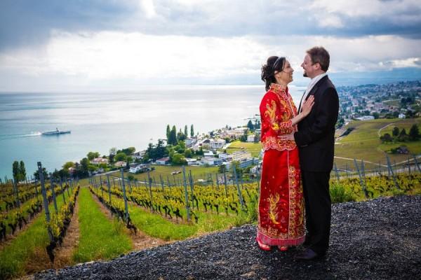 Swiss-chinese wedding