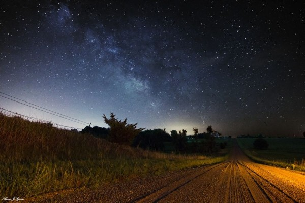 Sycamore Gravel, Milky Way by Aaron J. Groen