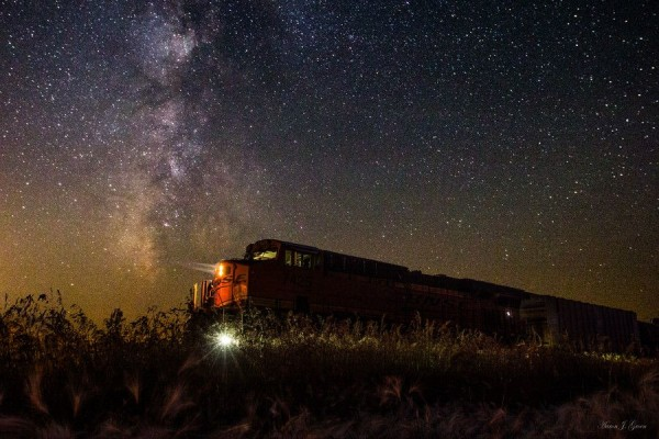 Train to the Cosmos by Aaron J. Groen