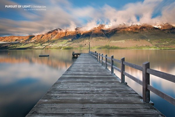 When Clouds Play by Christian Lim