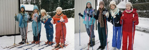 Four Sisters Adorably Recreate Their Childhood Photos