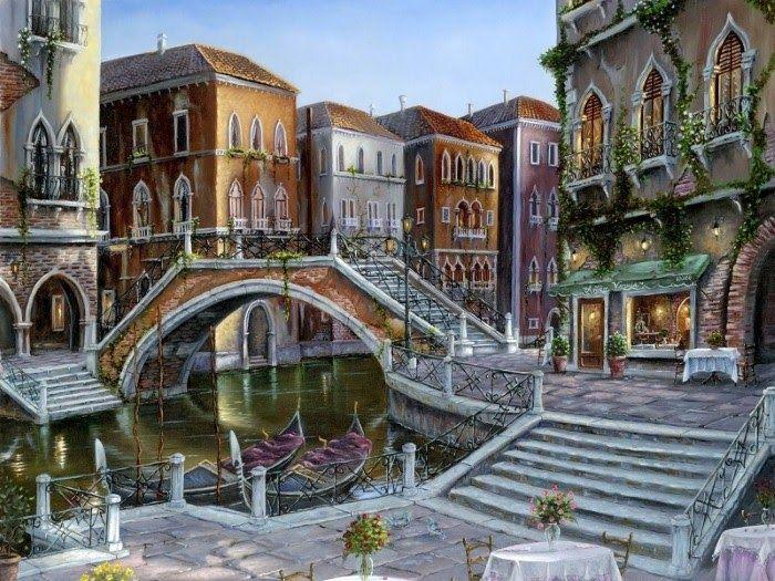 Romantic Oil Paintings