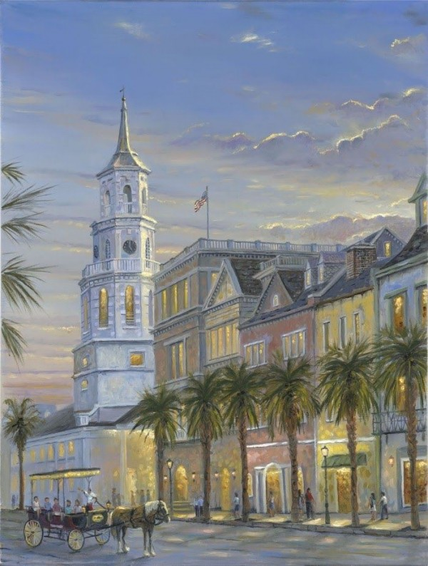 Cityscapes Oil Paintings (18)