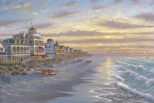 Romantic Oil Paintings