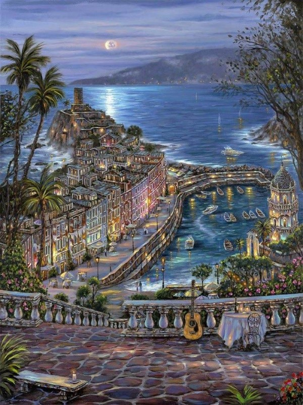 Cityscape Paintings by Robert Finale