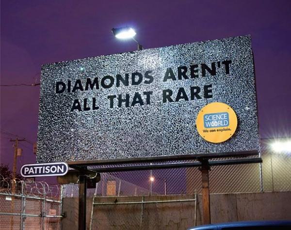 Diamonds are all that are rare